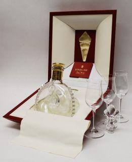 Louis XIII de Remy Martin Grande Champagne Cognac Set w 3 Glasses