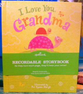 Love You Grandma Recordable Storybook by Hallmark Greeting Card Gift