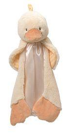 Baby Gund Duck Blanket Huggybuddy Silly Stripes Lovie
