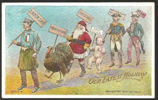 Antique Postcard Labor Day Fred Lounsbury Scarce 1910