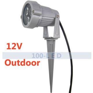 led low voltage landscape lighting pond light garden spotlight outdoor. Black Bedroom Furniture Sets. Home Design Ideas
