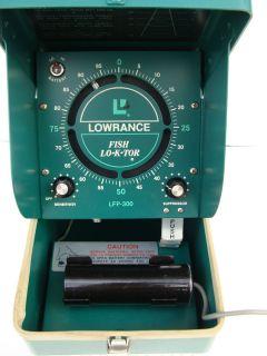 1957 Vintage Lowrance Fish Lo K TOR LFP 300 Portable Depth Fish Finder