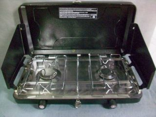 Timber Creek Double Burner Propane Camp Stove TCS2000