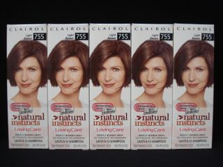Natural Instincts Loving Care Hair Color Light Brown 755