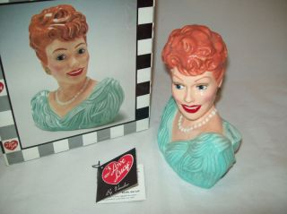 Lucille Ball I Love Lucy Hollywood Beauty Bank Bust