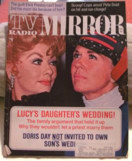 TV Radio Mirror August 1971 Lucille Ball Doris Day Many More