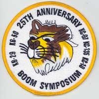 USAF 25th Anniversary Boom Symposium Squadron Patch