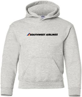 Southwest Airlines Retro Logo US Airline Aviation Hoody