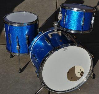 Vintage Ludwig Club Date Drum Set