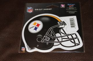 New Official Pittsburgh Steelers Die Cut Magnet