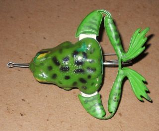 Vintage Jensen Frog Legs Fishing Lure for Tackle Box