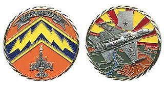 Luke AFB Arizona USAF Air Force Color Challenge Coin