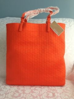 Michael Michael Kors Embossed Neoprene Tote Handbag