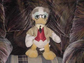 16 Disneys Professor Ludwig Von Drake Plush Doll Tag