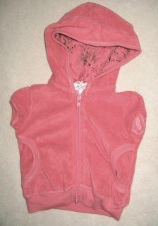 Luna Luna Copenhagen baby infant girl pink terry hoodie sweatshirt 6