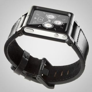 LunaTik Chicago Collection Leather Watch Band Strap for iPod Nano 6th