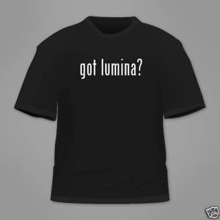 Got Lumina Funny T Shirt Tee White Black Hanes