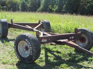 Lundell 4 Wheel Running Gear for Wagon