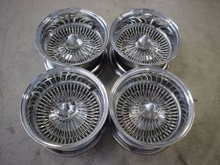 Luxor Lowrider Wire Wheels Rims 13x7 Used