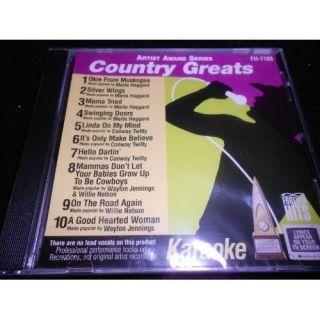 Lynn Anderson Tanya Tucker Dolly Parton Country Karaoke CDG CD Songs