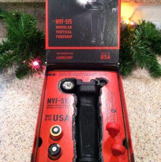 MVF 515 Crimson Trace Modular Vertical Foregrip Red Laser Light