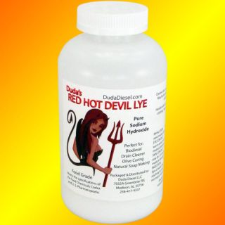 12 lb Food Grade Sodium Hydroxide Red Devil Lye Naoh
