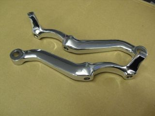 1964 Chevy Impala Chrome Steering Knuckle Set 64 283 327 Lowrider SS