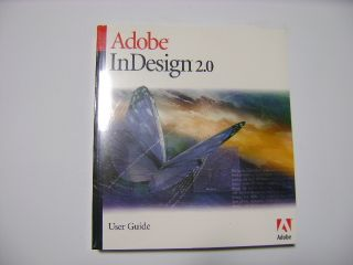 New Adobe InDesign 2 0 Retail Manual User Guide Windows Mac