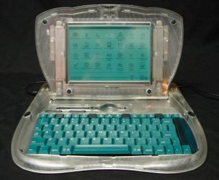 Apple Computer Prototype Emate 300 Laptop Clear Case Newton Macintosh