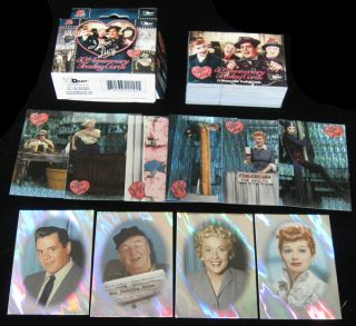 2001 Dart I Love Lucy 50th Anniversary Factory Set 72 NM MT