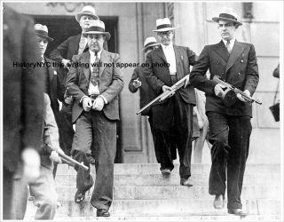 1933 Machine Gun Kelly Oklahoma Arrest Police Photo