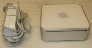 Apple Mac Mini Intel Core Duo 1 66GHz 60GB 1GB OSX 10 6 Snow Leopard w