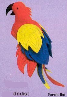Margaritaville Jimmy Buffett Costume Bird Hat Parrot