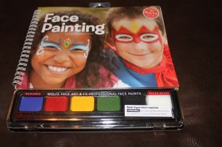 NEW KLUTZ WOLFE FACE ART & FX PROFESSIONAL FACE PAINTS FACE PAINTING W
