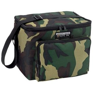 Camouflage 6 Pack Insulated Soft Sided Lunch box Small Cooler bag