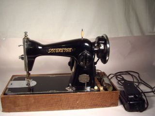 Vintage Precision Sewing Machine Sovereign Deluxe Japan