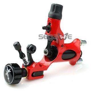 Pro Rotary Tattoo Machine Gun Adjustable Shader Liner Red Firefly