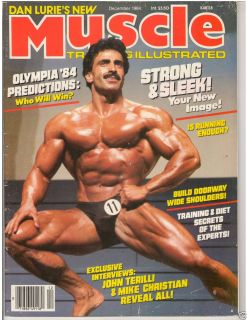 Muscle Training Dan Lurie Bodybuilding fitness magazine SAMIR BANNOUT