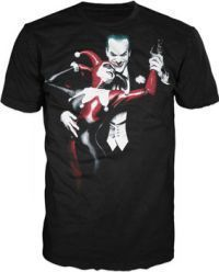 New Batman Arkham Asylum Mad Love Joker Harley Quinn Medium T Shirt