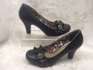 Madden Girl by Steve Madden UNGARO Black Heels Shoes Pumps Size 6 MSRP