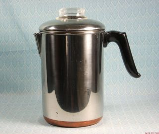 Stainless Steel Stovetop Percolator Coffee Maker Coffee Pot