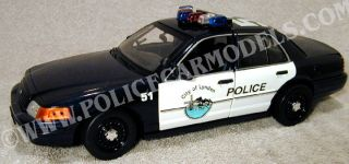 Motormax 1 18 Lynden WA Police Ford Crown Victoria
