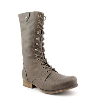 Madden Girl Geirard Womens Size 6.5 Brown Faux Leather Fashion   Mid