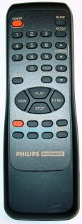 PHILIPS MAGNAVOX TV VCR COMBO REMOTE CONTROL N0207UD CCX253 CCX253AT