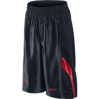 Nike Lebron James Essentials Shorts Black Red 439168 010 Sz M L XL 2XL