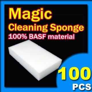 100 Magic Sponge Eraser Cleaning Melamine Foam Cleaner