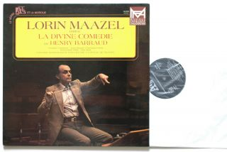 Henry Barraud La Devine Comedie Maazel Chamonin Ades 14 019 LP