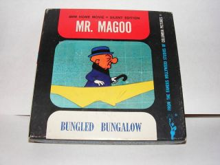 Vintage Movie Home Film 8mm Mr Magoo Bungled Bungalow