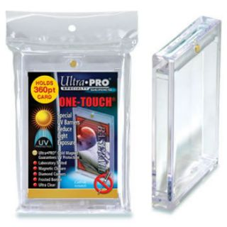 12 Ultra Pro One Touch Magnetic Card Holders 360pt w UV