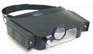 LED Magnifier Glasses Magnifying Lens Glass w Light Perfect Hobby